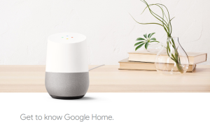 Google Home Intro.