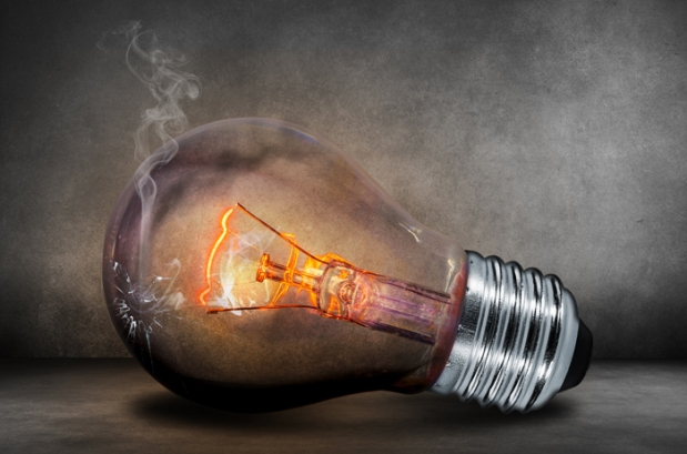 Blown Bulb.