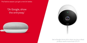 Google Home Mini and Nest.